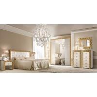 Модульная спальня Диамант Премиум золото