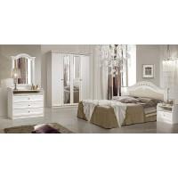 Модульная спальня Ромола штрих лак