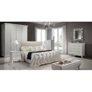 Модульная спальня Алма (штрих/выбеленный дуб)
