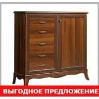"""Спецпредложение комод  """"Алма"""" ноче большой"""