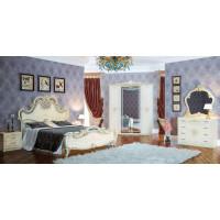 Модульная спальня Офелия слоновая кость