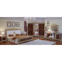 Модульная спальня Орлеан тайский орех