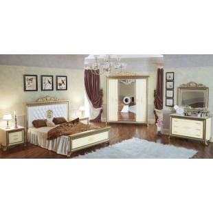 Модульная спальня Орлеан слоновая кость
