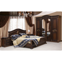 Модульная спальня Сантина орех