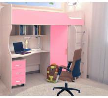 Универсальный детский комплекс Ральф розовый