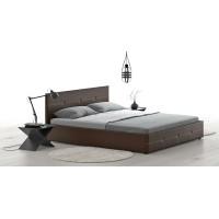 Кровать Альбера Марика 468 к/з (шоколад)