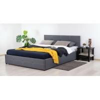 Кровать Альбера Марика 485 к/з (серый)