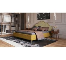 Кровать Даная (цвет горчичный)