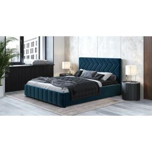 Кровать Капри Лекко океан (полуночно-синий)
