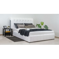 Кровать Мишель (цвет белый)