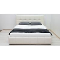 Кровать Терра Пегасо крем к/з (сливочный)