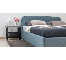 Кровать Тироль Ролан 3064/4 рогожка (серо-бирюзовый)