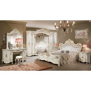 Модульная спальня Динара крем