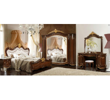 Модульная спальня Элия темный орех