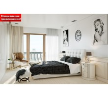 Кровать Паола с ПМ fusion white спецпредложение