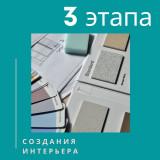 3 этапа создания интерьера