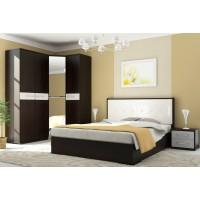Модульная спальня Ребекка венге/белый